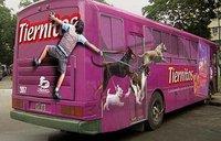 盘点国外最具创意的公交车广告