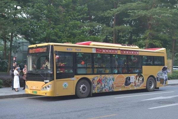 公交车广告-广州公交广告投放价格费用解析