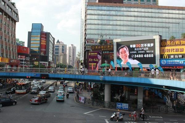 广州户外广告管理新规出台,商业区广告规范设置趋严