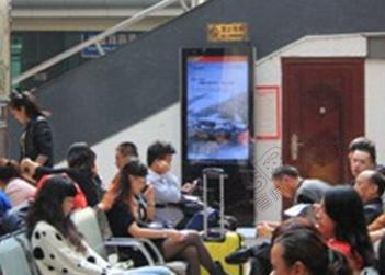 成都东站/茶店子客运站液晶刷屏机