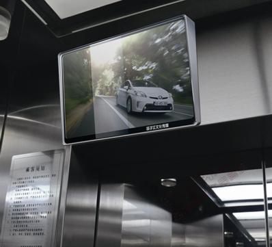成都各大写字楼,公寓电梯轿厢视频投放