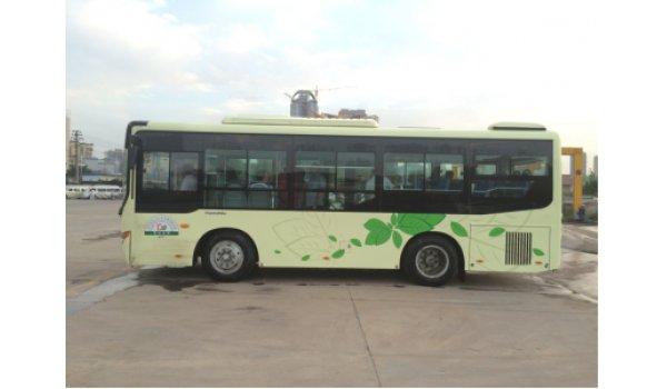巴中市恩阳公交车车身广告