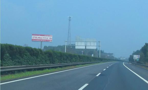 京珠高速临长段K1382单立柱广告