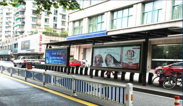杭州市各大公共自行车亭双面灯箱套餐广告位-易播网