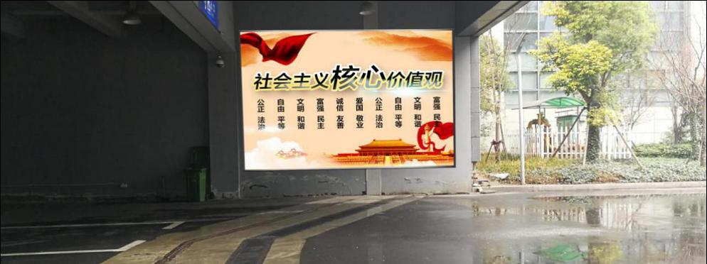杭州市火车东站下客区通道灯箱广告位-易播网