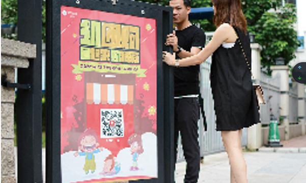 深圳市高端社区出入口灯箱广告