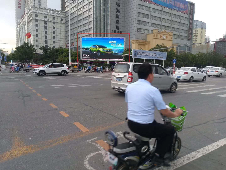 邯郸市联纺路与滏东大街交叉口东南角LED电子屏幕-易播网