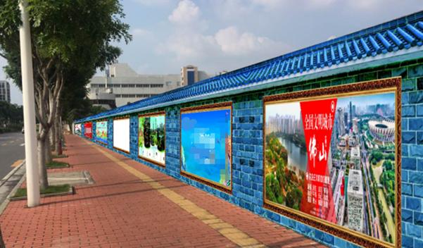佛山市禅城区张槎街道东鄱南路围挡大牌广告-易播网