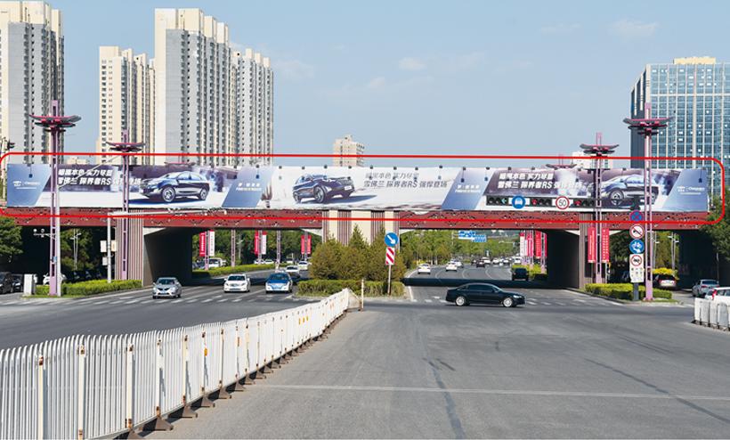 太原长风街大型广告牌(太原长风街与西中环交汇处)-易播网
