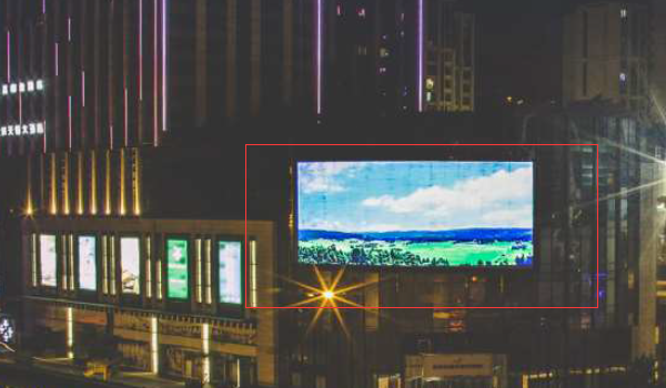成都市金牛区龙湖北城天街商贸大道LED广告-易播网