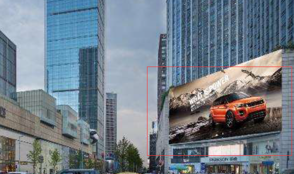 成都市锦江区总府路2号IFS国金中心北门时代百盛商场LED广告-易播网