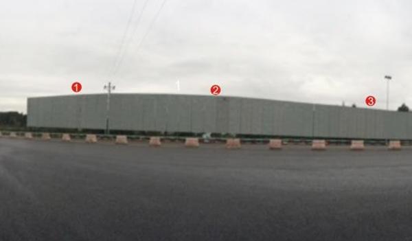昆石高速小喜村收费站大牌D1广告