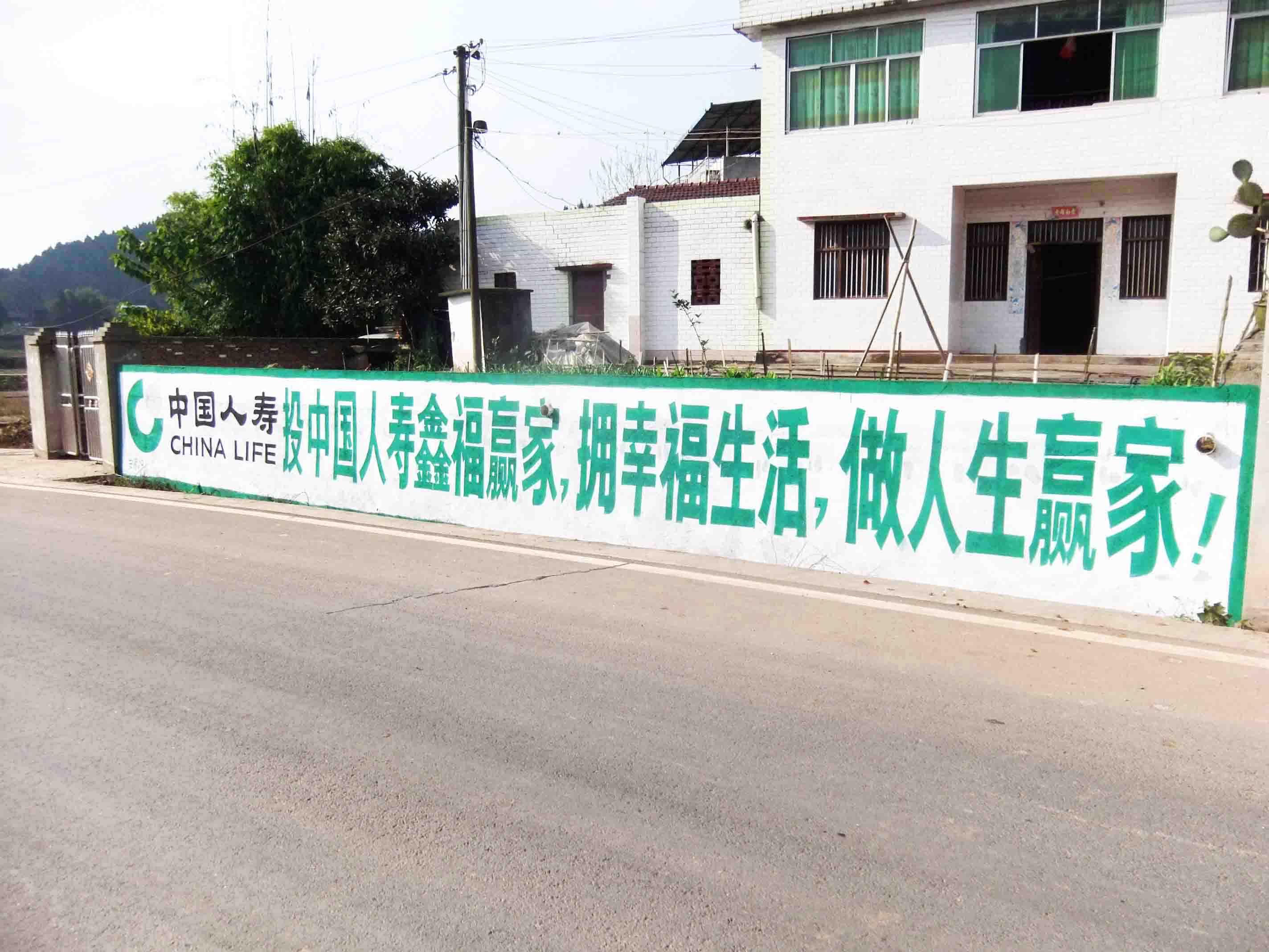 凉山墙体广告制作凉山刷墙广告宣传凉山新农村标语广告                                        -易播网