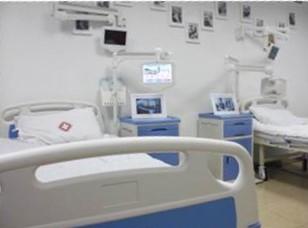 株洲市医院病房数字刷屏广告