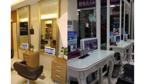 美发厅镜面媒体优质广告位
