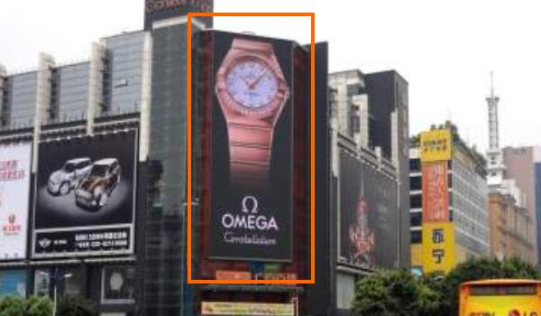 广州天河广百百货LED广告位
